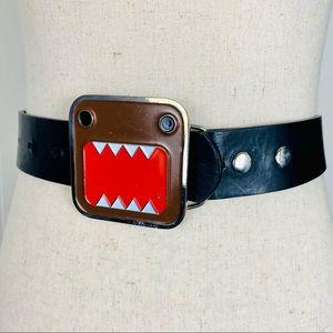 Hot Topic Domo Kun Leather Belt